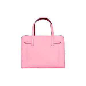 Pink leather handbag back view product photo Product Photographers Commercial Photographers Midrand Johannesburg South Africa