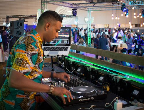 DJ playing at Sandton rooftop event photography Alter Image Digital Media Corporate and private event photographers Midrand Johannesburg South Africa