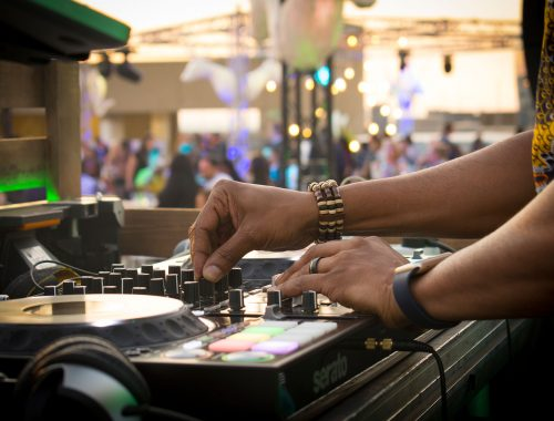 DJ performing on equipment event photography Alter Image Digital Media Corporate and private event photographers Midrand Johannesburg South Africa