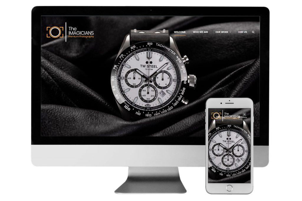 The Imagicians website responsive view Alter Image Digital Media web designers ecommerce developers Midrand Johannesburg South Africa