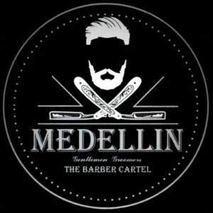 Medellin Barber Cartel Logo Web Designers Ecommerce developers Product Photographers Social media managers Midrand Johannesburg South Africa